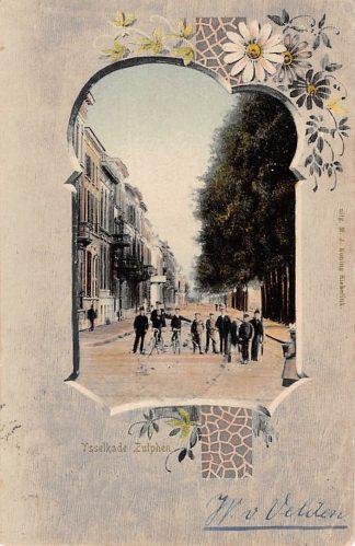 Ansichtkaart Zutphen IJsselkade 1904 HC18412