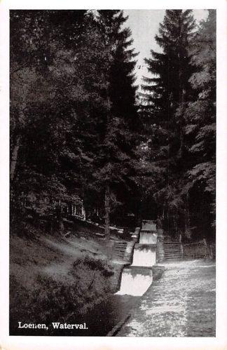 Ansichtkaart Loenen (GD) Waterval 1954 Veluwe HC18439