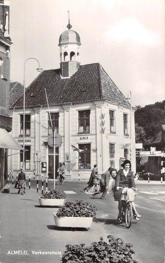 Ansichtkaart Almelo Verkeershuis HC18453