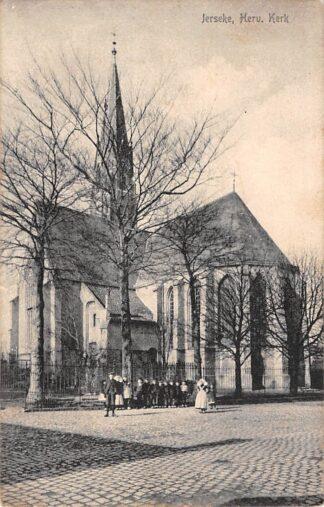 Ansichtkaart Yerseke Hervormde Kerk 1910 HC18454