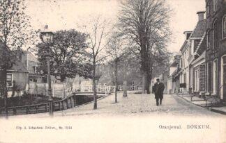 Ansichtkaart Dokkum Oranjewal voor 1906 HC18466