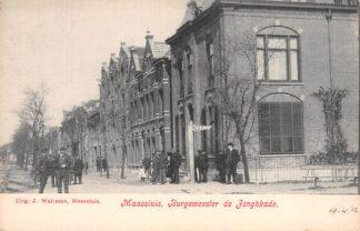 Ansichtkaart Maassluis Burgemeester de Jonghkade HC18475