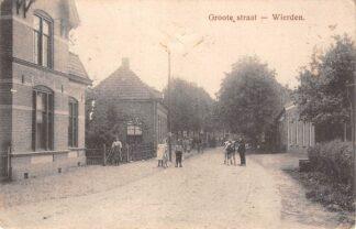 Ansichtkaart Wierden Schoolstraat 1912 Almelo Twente HC18479