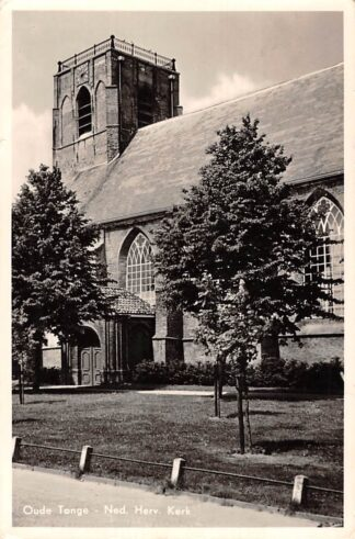 Ansichtkaart Oude Tonge Ned. Hervormde Kerk 1955 HC18482