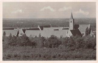 Ansichtkaart Amersfoort Panorama vanaf Belgisch Monument met Onze Lieve Vrouw ter Eem Kerk 1948HC18500