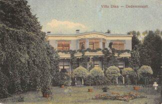 Ansichtkaart Dedemsvaart Villa Dina Uitgave J. Kononh. HC18518