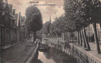 Ansichtkaart Bolsward Kleine en Groote Dijlakker 1926 HC18525