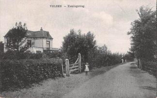 Ansichtkaart Velsen Koningsweg 1922 HC18531