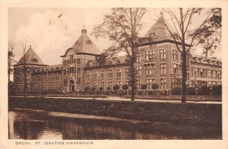Ansichtkaart Breda St. Ignatius Ziekenhuis 1929 HC18536