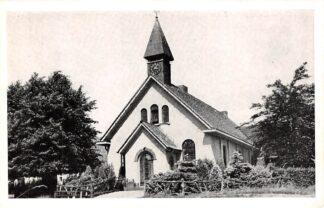 Ansichtkaart Hoog Soeren Ned. Hervormde Kerk 1953 Apeldoorn HC18548
