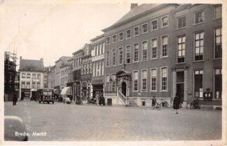 Ansichtkaart Zaltbommel Markt 1941 HC18557