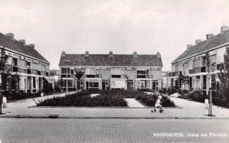 Ansichtkaart Waddinxveen Justus van Effenlaan 1967 HC18575