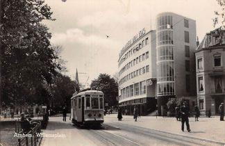 Ansichtkaart Arnhem Willemsplein Tram 72 Type fotokaart HC18579