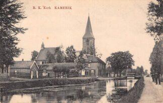Ansichtkaart Kamerik R.K. Kerk 1919 Woerden HC18580