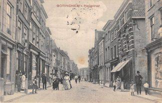 Ansichtkaart Gorinchem Hoogstraat 1908 HC18594