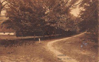 Ansichtkaart Heerde Naar de Delle 1925HC18597