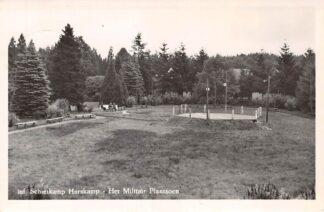 Ansichtkaart Harskamp Infanterie Schietkamp Het Militair Plantsoen Kazerne Veluwe 1953 HC18610