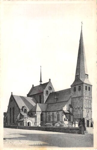 Ansichtkaart Groessen R.K. Kerk 1959 Duiven Gelderland HC18630
