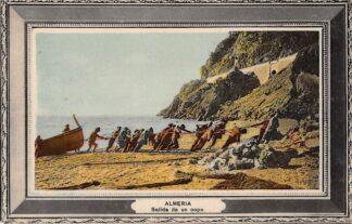 Ansichtkaart Spanje Almeria Salida de un copo Espania Spain Europa HC18644