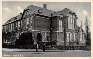 Ansichtkaart Steenwijk Rijks H.B.S. 1939 School HC18658