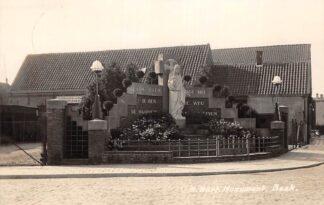 Ansichtkaart Beek (NB) H. Hart Monument Newo fotokaart 1935 HC18665