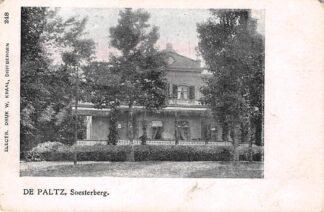 Ansichtkaart Soesterberg De Paltz 1900 HC18676