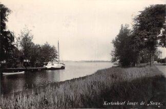 Ansichtkaart Kortenhoef Fotokaart Langs de Suwe Wijde Meren Hilversum HC18678