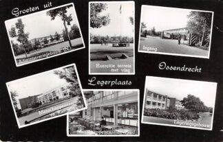 Ansichtkaart Ossendrecht Groeten uit Legerplaats Kazerne 1958 Militair HC18689
