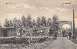 Ansichtkaart Stolwijk 't Beijersche Beijersche weg Halte Spoorlijn Gouda - Schoonhoven 1933 Spoorwegen Tram Treinen hc18700