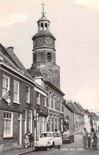 Ansichtkaart Buren (GD) Toren N.H. Kerk VW  Auto 1972 HC18707