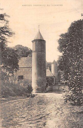 Ansichtkaart Domburg Kasteel Westhove Walcheren HC18722