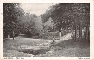 Ansichtkaart Hoog Soeren Pomp Hul 1924 Apeldoorn HC18725