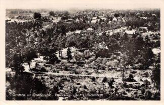 Ansichtkaart Driebergen Groeten uit 1954 Panorama vanuit Uitzichttoren HC18732
