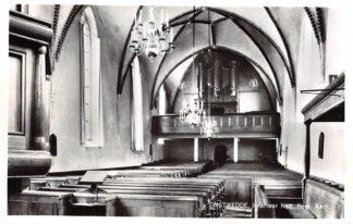 Ansichtkaart Onstwedde Interieur Ned. Hervormde Kerk met orgel 1966 Stadskanaal HC18768