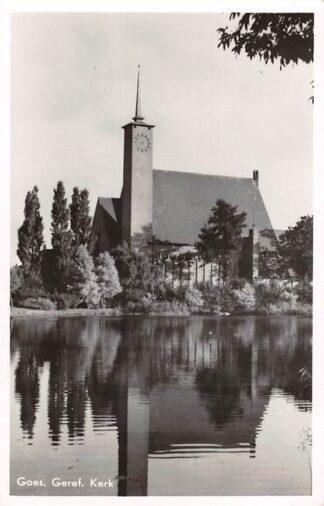 Ansichtkaart Goes Gereformeerde Kerk HC18779