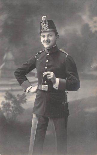 Ansichtkaart Militair Fotokaart Soldaat 1914 HC18823