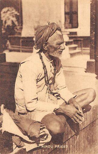 Ansichtkaart India Bombay Hindu Priest Azië HC18824