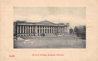 Ansichtkaart India Calcutta Kolkata Medical College Hospital Azië HC18834