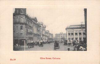 Ansichtkaart India Calcutta Kolkata Clive Street Azië HC18835