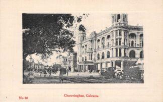 Ansichtkaart India Calcutta Kolkata Chowrinhee Azië HC18838