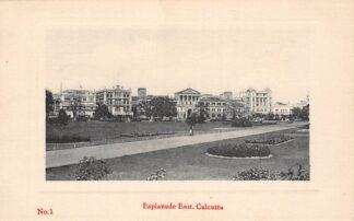 Ansichtkaart India Calcutta Kolkata Esplanade East Azië HC18839