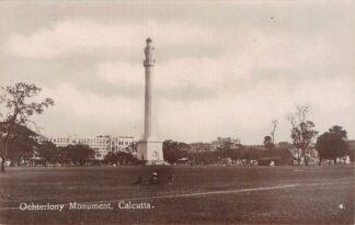 Ansichtkaart India Calcutta Kolkata Ochterlony Monument Azië HC18843