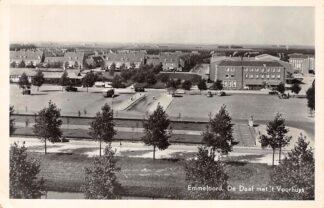 Ansichtkaart Emmeloord De Deel met 't Voorhuys 1950 HC18845