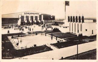 Ansichtkaart Rotterdam Nenyto paviljoen Rotterdam met Hal A en Hal Scheveningen 1928 HC18851