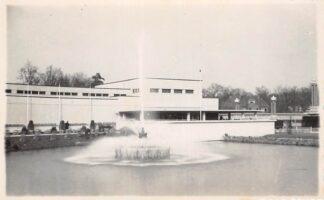 Ansichtkaart Heemstede Bloemententoonstelling Flora 15 maart - 19 mei 1935 HC18859