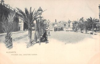 Ansichtkaart Spanje Alicante Avenida del Doctor gadea 1900 Espan Spain Europa HC18875