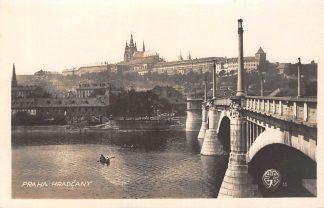 Ansichtkaart Tsjechië Praha Hradcany Fotokaart Czech Republic Europa HC18889