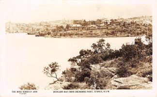 Ansichtkaart Australië Hungary Bay from Cremorne Point Sydney N.S.W. Fotokaart Australia HC18891
