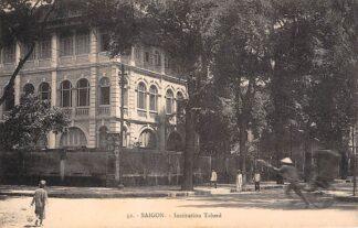 Ansichtkaart Vietnam Ho Chi Minhstad Saigon Institution Taberd Azië HC18897