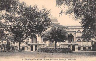Ansichtkaart Vietnam Saigon Ho Chi Minhstad Une aile du Palais de Gouverneur General de l'Indo-Chine Azië HC18904